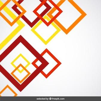 Tło z terakoty przedstawione kwadratów
