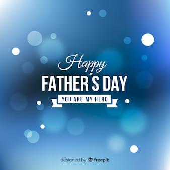 Tło zamazane dzień ojca