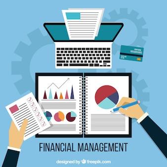 Tło zarządzania finansami