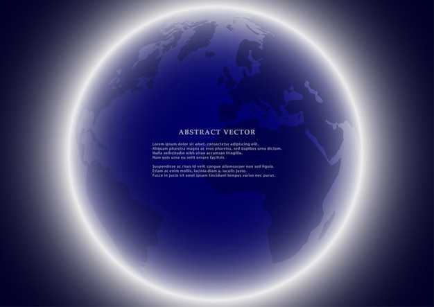 Tło ziemi glob.