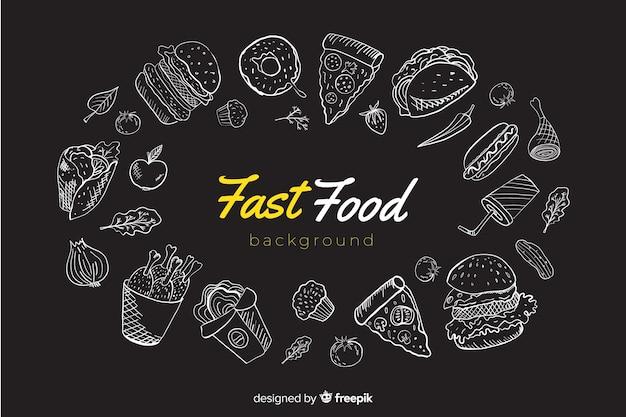 Tło żywności