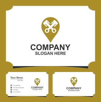Tłok szpilki z logo