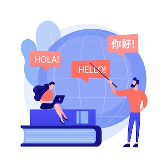Tłumaczenia języków obcych. językoznawstwo, tłumaczenie maszynowe, program wymiany studentów. kursy językowe