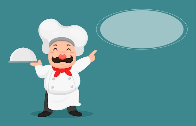 Tłuste kucharze polecają menu klienta.