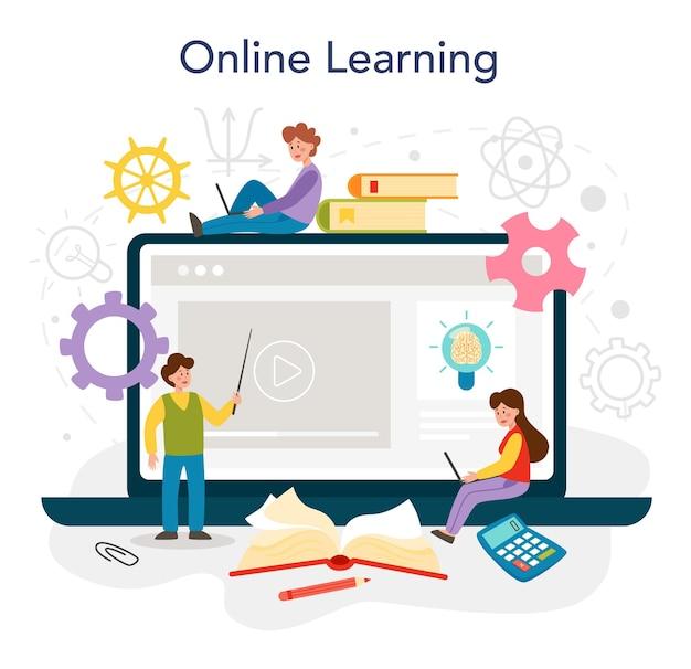 To edukacyjna usługa online lub oprogramowanie do pisania platform dla studentów