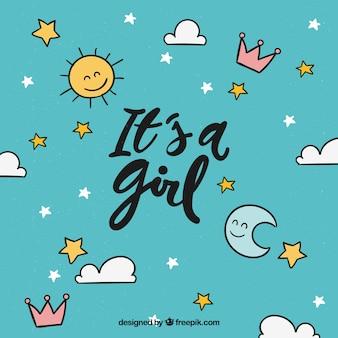 To Projekt Dziewczyny Darmowych Wektorów