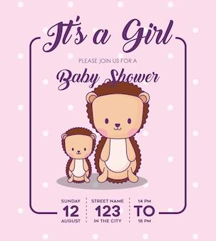 To zaproszenie na baby shower baby