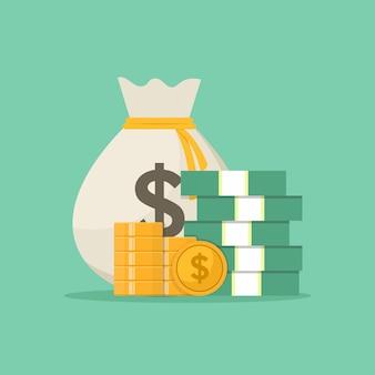 Torba z pieniędzmi