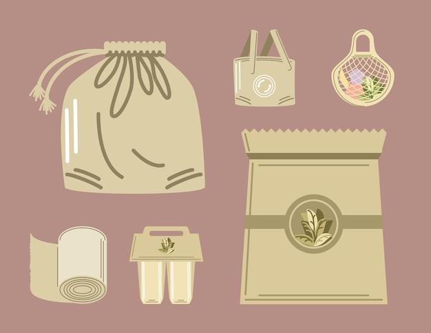 Torby i produkty ekologiczne