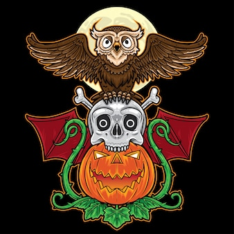Totem halloween