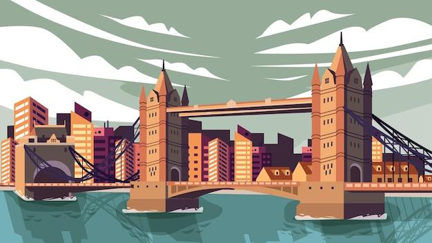Tower bridge londyn - słynny punkt orientacyjny
