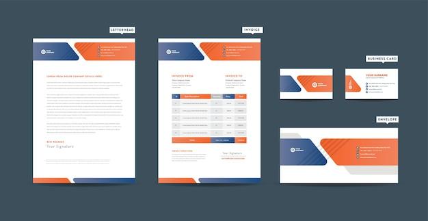 Tożsamość marki korporacyjnej, projektowanie stacjonarne, projektowanie dokumentów firmy start-up
