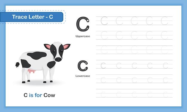 Trace letter-g: az animal, smallcase letter, hand writing practice book