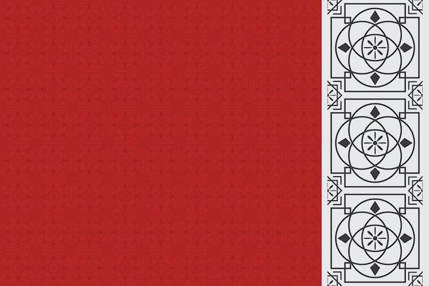 Tradycyjne wzornictwo chińskich wzorów.