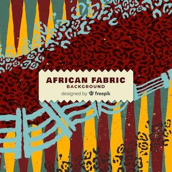 Tradycyjny afrykański tkanina druku tło