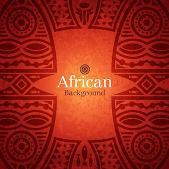 Tradycyjny afrykański tło