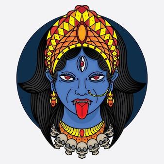 Tradycyjny kali tatuaż