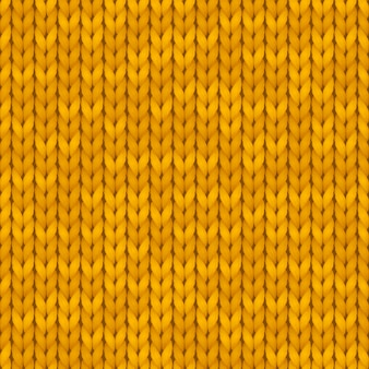 Tradycyjny pomarańczowy wzór dzianiny bez szwu. zimowe tło z miejscem na tekst. tekstura tła. wzór. ilustracja.
