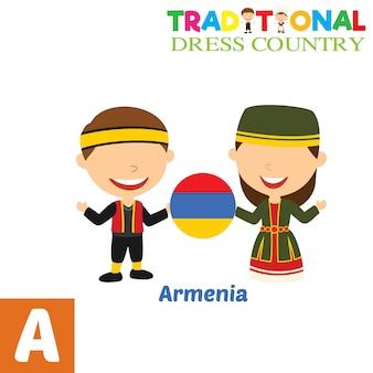 Tradycyjny strój kraju