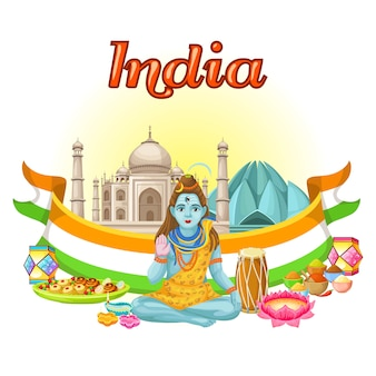 Tradycyjny szablon kultury indyjskiej