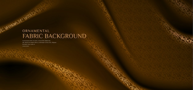 Tradycyjny wzór tkaniny ozdobne tło
