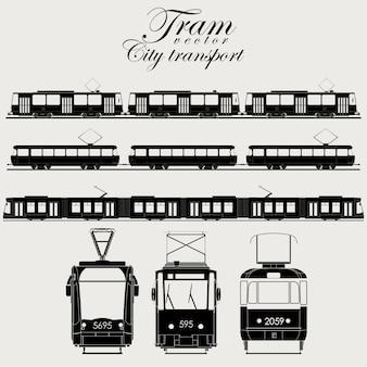 Tramwaj miejski transport
