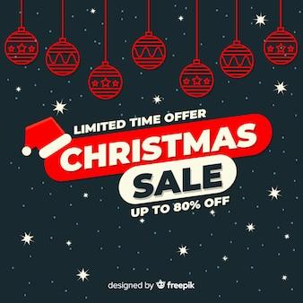Transparent świątecznej sprzedaży