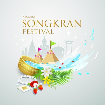 Transparent festiwalu songkran