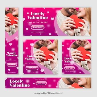 Transparent fotograficzny valentine sprzedaży