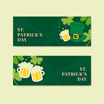 Transparent green saint patricks day