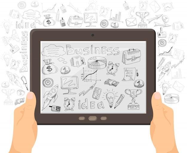 Transparent koncepcji technologii mobilnych