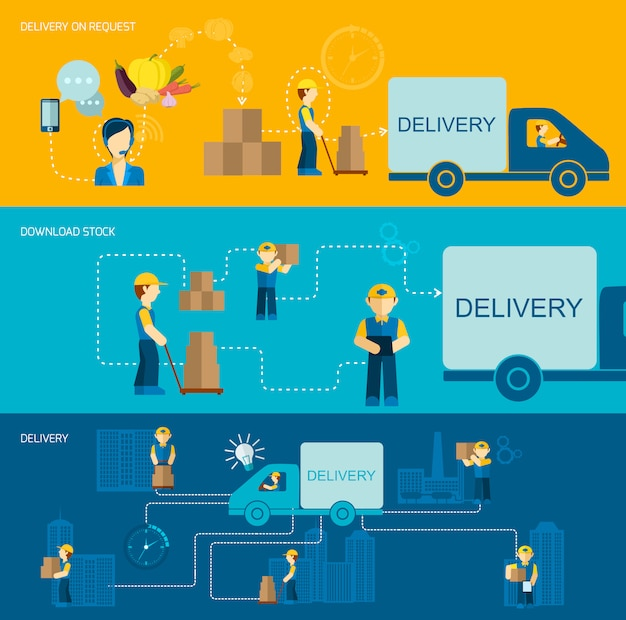 Transparent man delivery