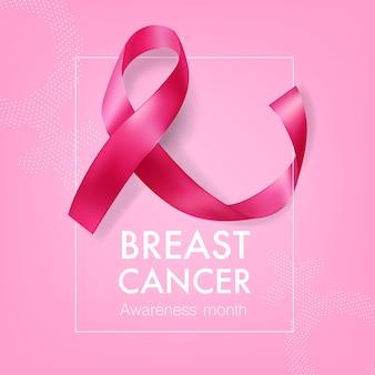Transparent miesiąca świadomości raka piersi
