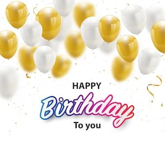 Transparent na przyjęcie z okazji urodzin
