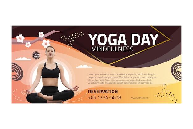 Transparent równowagi ciała jogi