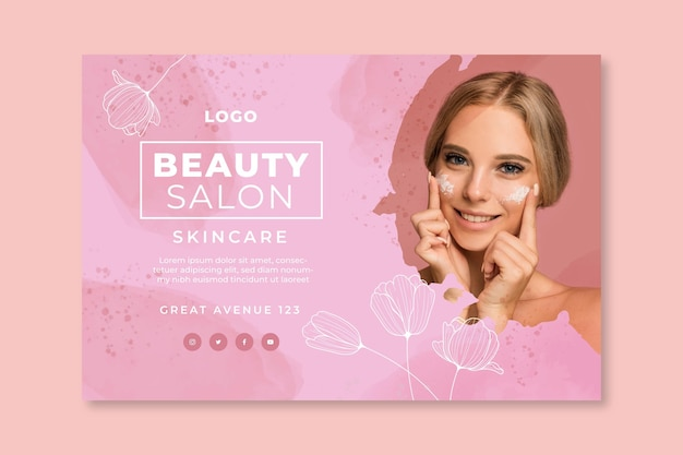 Transparent salon piękności