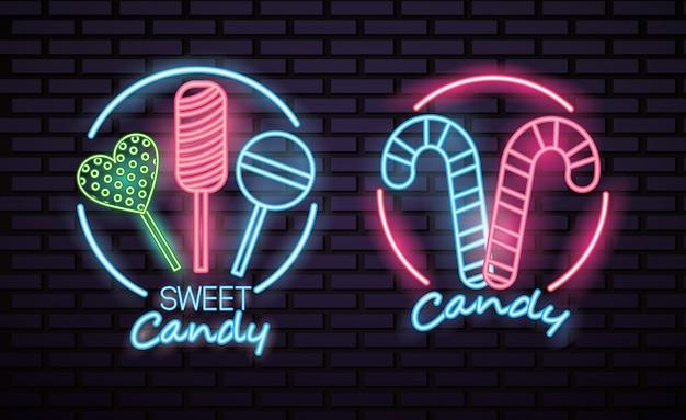 Transparent słodkich cukierków