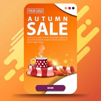 Transparent sprzedaży jesienią