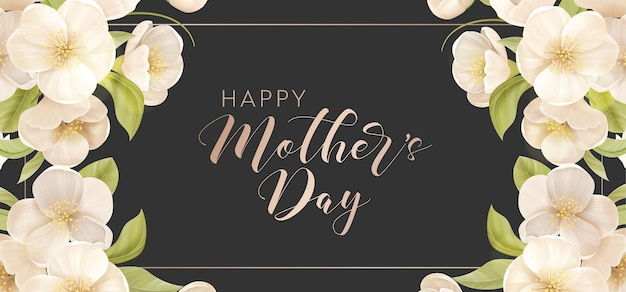 Transparent wakacje dzień matki. ilustracja wektorowa kwiatowy wiosna. powitanie realistyczny szablon karty wiśniowe kwiaty, luksusowe tło kwiatowe, ulotka z międzynarodowym dniem matki, nowoczesny projekt strony