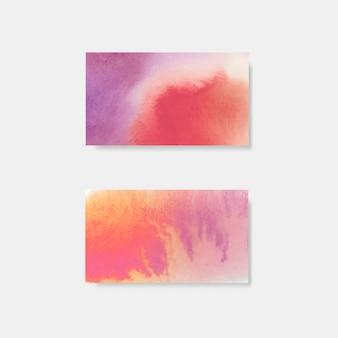 Transparent wektor fioletowy styl akwarela