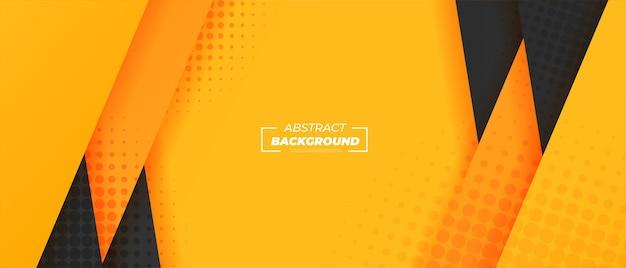 Transparent żółte paski streszczenie gradientu