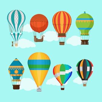 Transport balonem aerostat