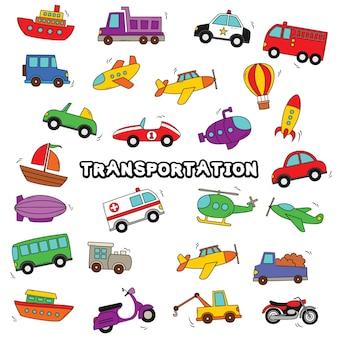 Transport doodle