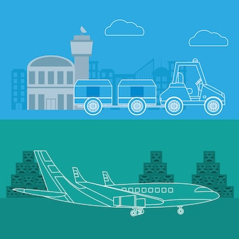 Transport i logistyka usług lotniczych