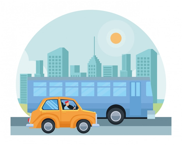 Transport i pojazdy z kreskówek