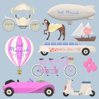 Transport mody ślubnej