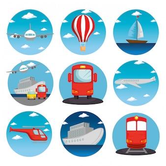 Transport pojazdów logistycznych