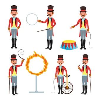Trener cyrku