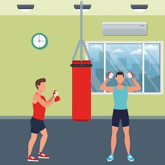 Treningi osób fitness