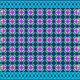 Tribal bezszwowy wzór geometryczny bezszwowy wzór aztecki